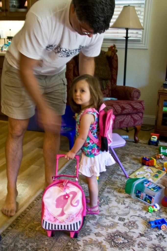 2 Barbie backpacks!