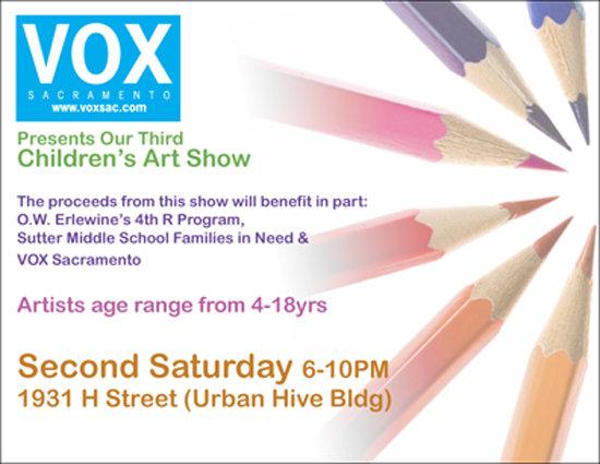 Vox Childrens Show Flyer