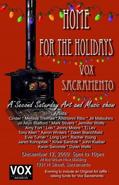Vox Dec flyer