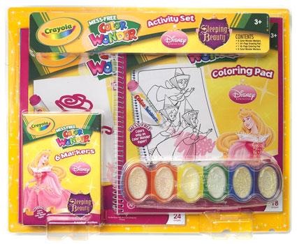 Crayola Color Wonders Sleeping Beauty Set